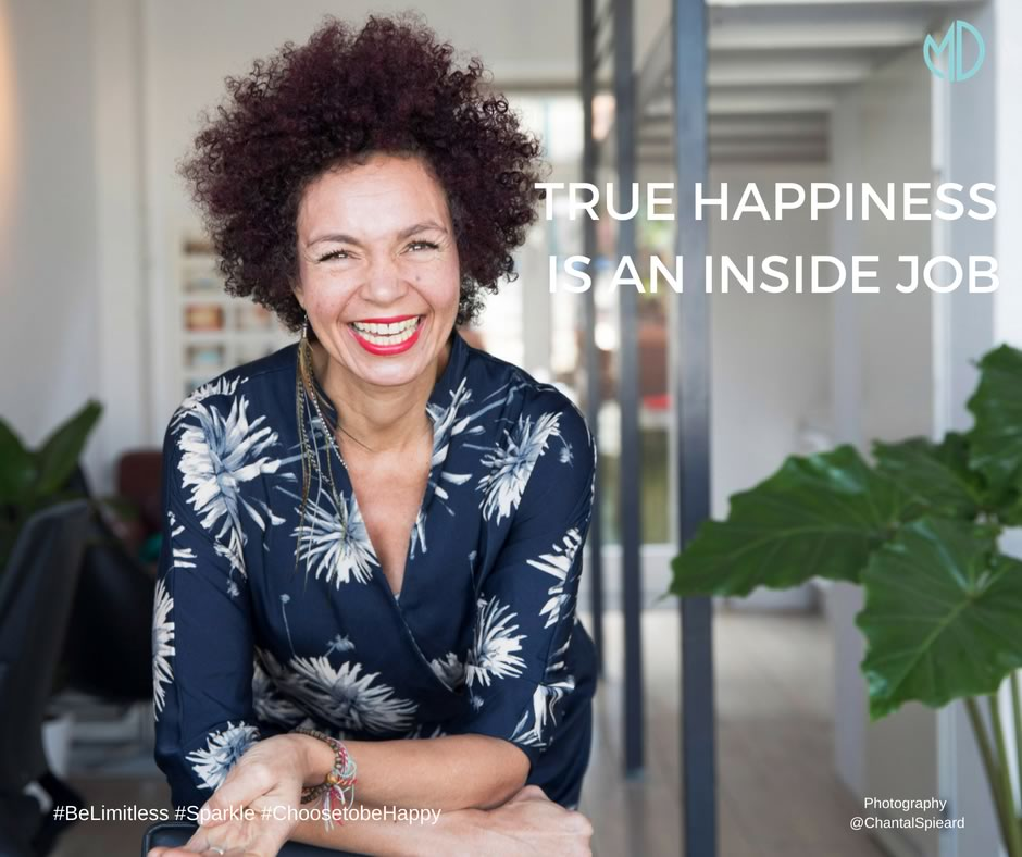True Happiness is an Inside Job
